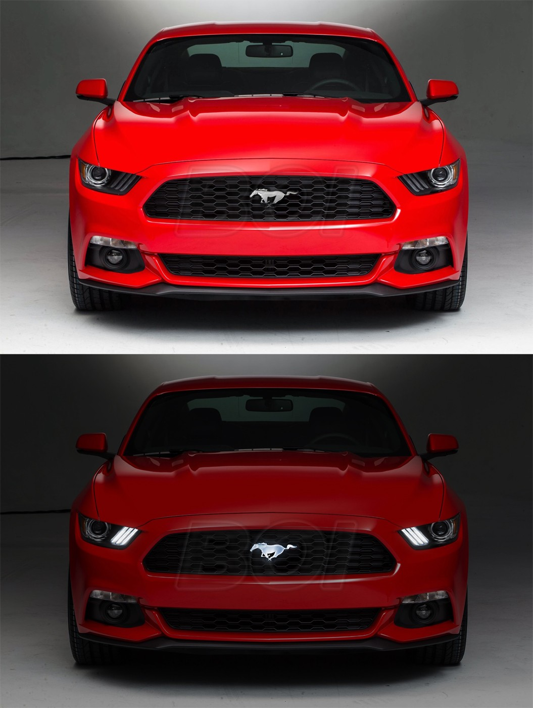 2015 2017 Genuine Ford Mustang Grille Light Up Translucent
