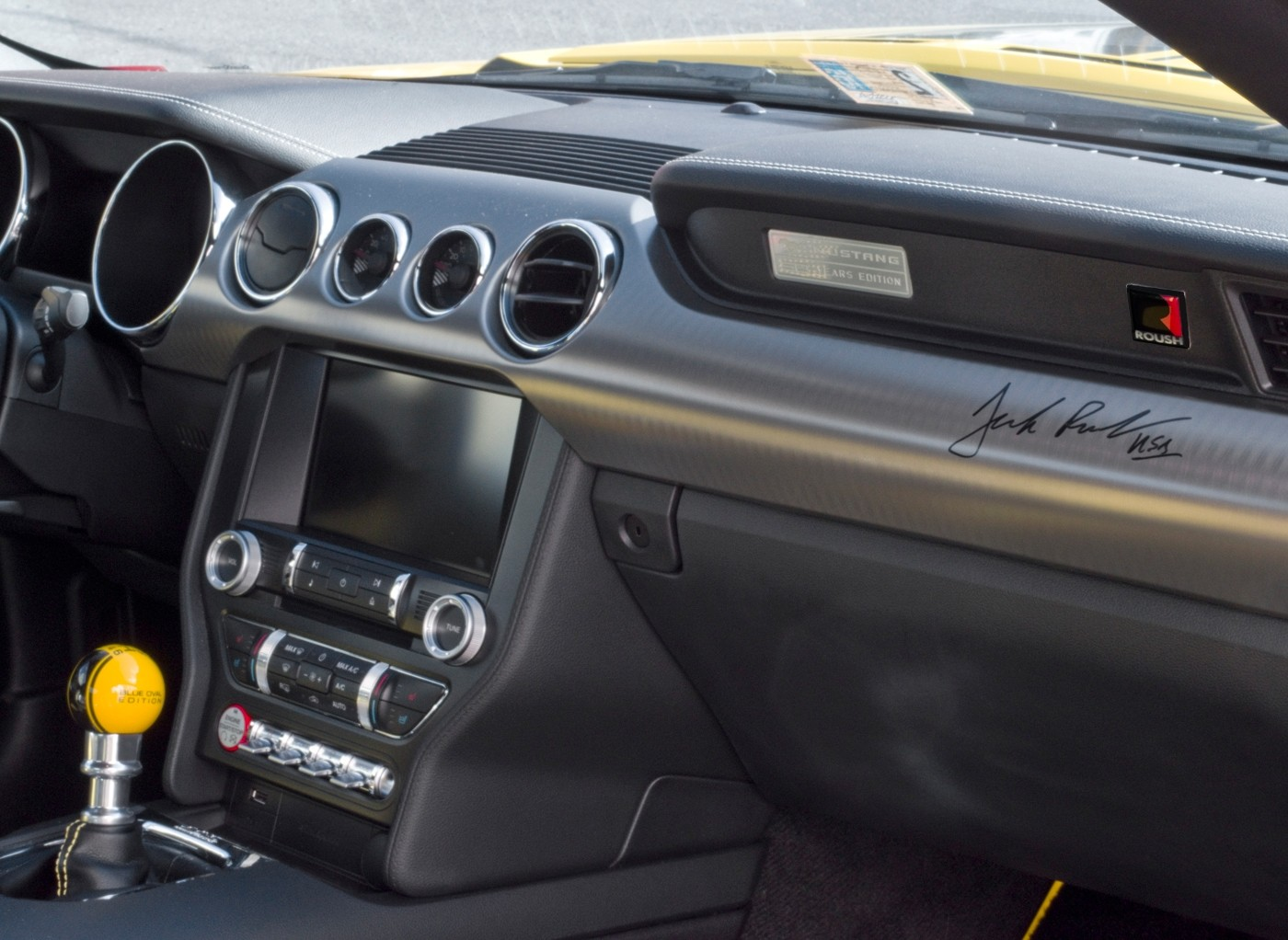 Ford Mustang Roush Stage Rs 1 2 3 Interior Dash Console