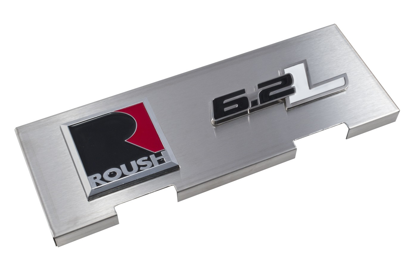 2010-2014 F150 Raptor Stainless Engine Fuse Box Cover with 5.0 Emblem