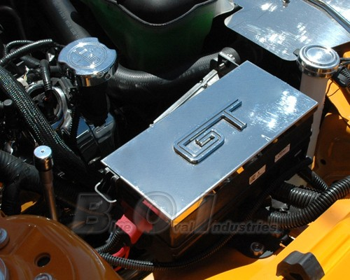 2005 2009 Mustang Polished Stainless Steel Fuse Box Cover