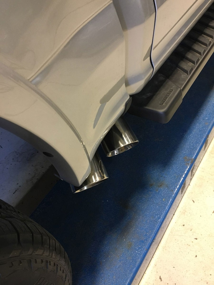 2015 2020 Ford F150 Pypes Performance Side Exit Exhaust System W Dual Tips