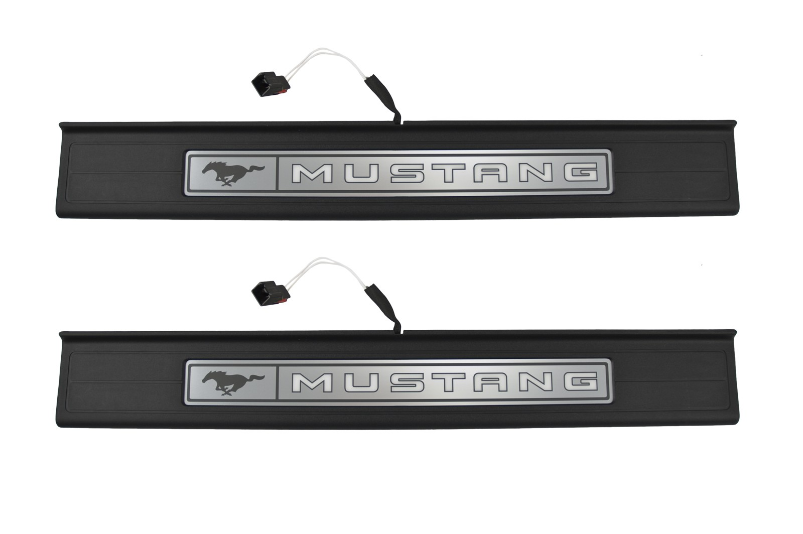 2015 2017 Mustang Illuminated Lighted Door Sill Step Plates W Ford Wiring Harness