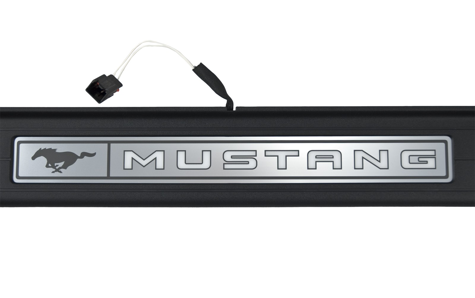 2015-2017 Mustang Illuminated Lighted Door Sill Step Plates w/ Wiring  Harness