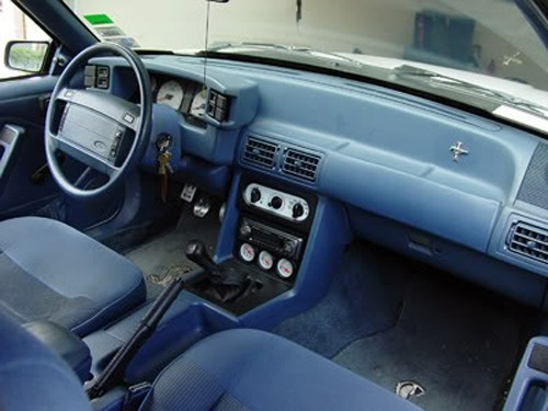 1987-1993 Ford Mustang Interior Passenger Side Dashboard ...