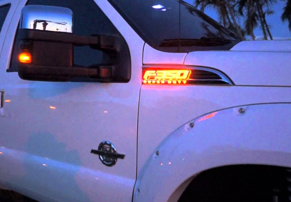 2016 Ford Super Duty >> 2011-2016 F350 Super Duty RED WHITE BLUE AMBER Light Up ...