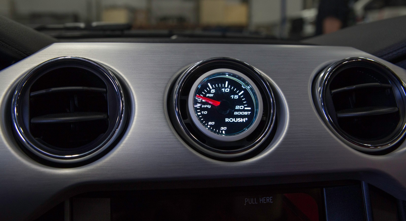 2015 2017 Ford Mustang Roush 2 1 16 Boost Gauge Amp A C
