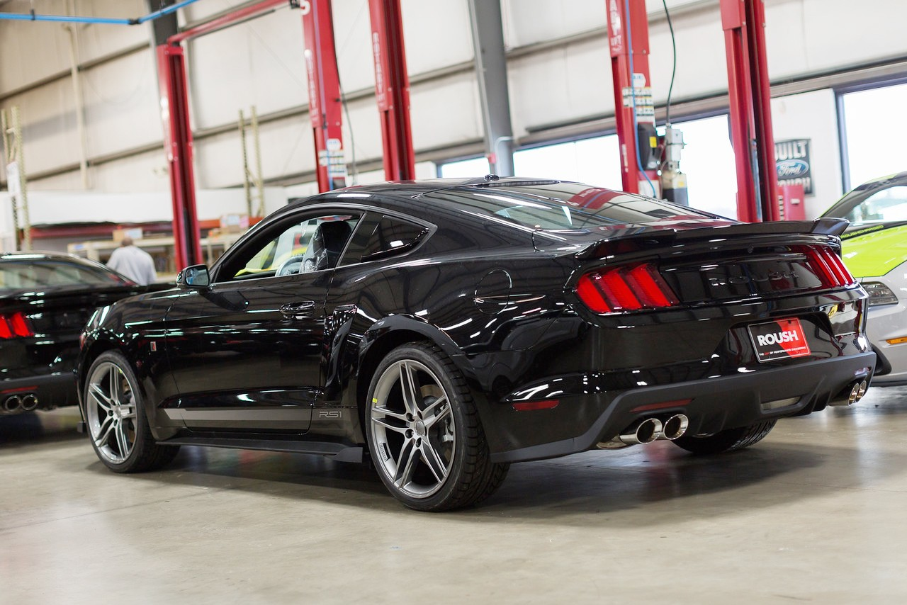 2015 2019 Mustang Coupe Roush 421883 Rear Spoiler Wing
