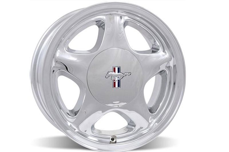 """Ford Mustang Wheels >> 1991-1993 Mustang Pony Wheel 6.75"""" Chrome Center Cap w"""