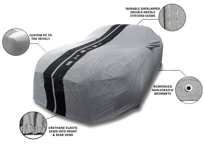mustang shelby gt genuine ford weathershield