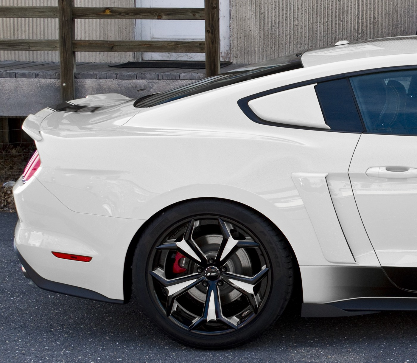 2015-2017 Mustang Genuine Ford Side Quarter Window Scoops