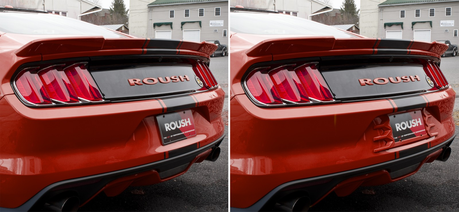 2015 2017 ford mustang custom painted rear license plate frame race red pq - Mustang License Plate Frames