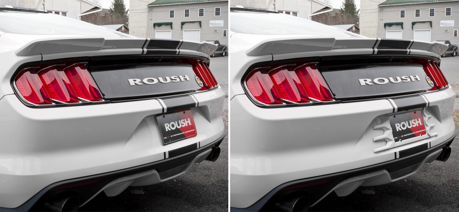 Ford Cobra Truck 2017 >> 2015-2017 Ford Mustang Custom Painted Rear License Plate Frame Oxford White YZ