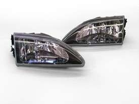 1994-1998 Mustang Cobra Euro Diamond Cut Headlights - Pair