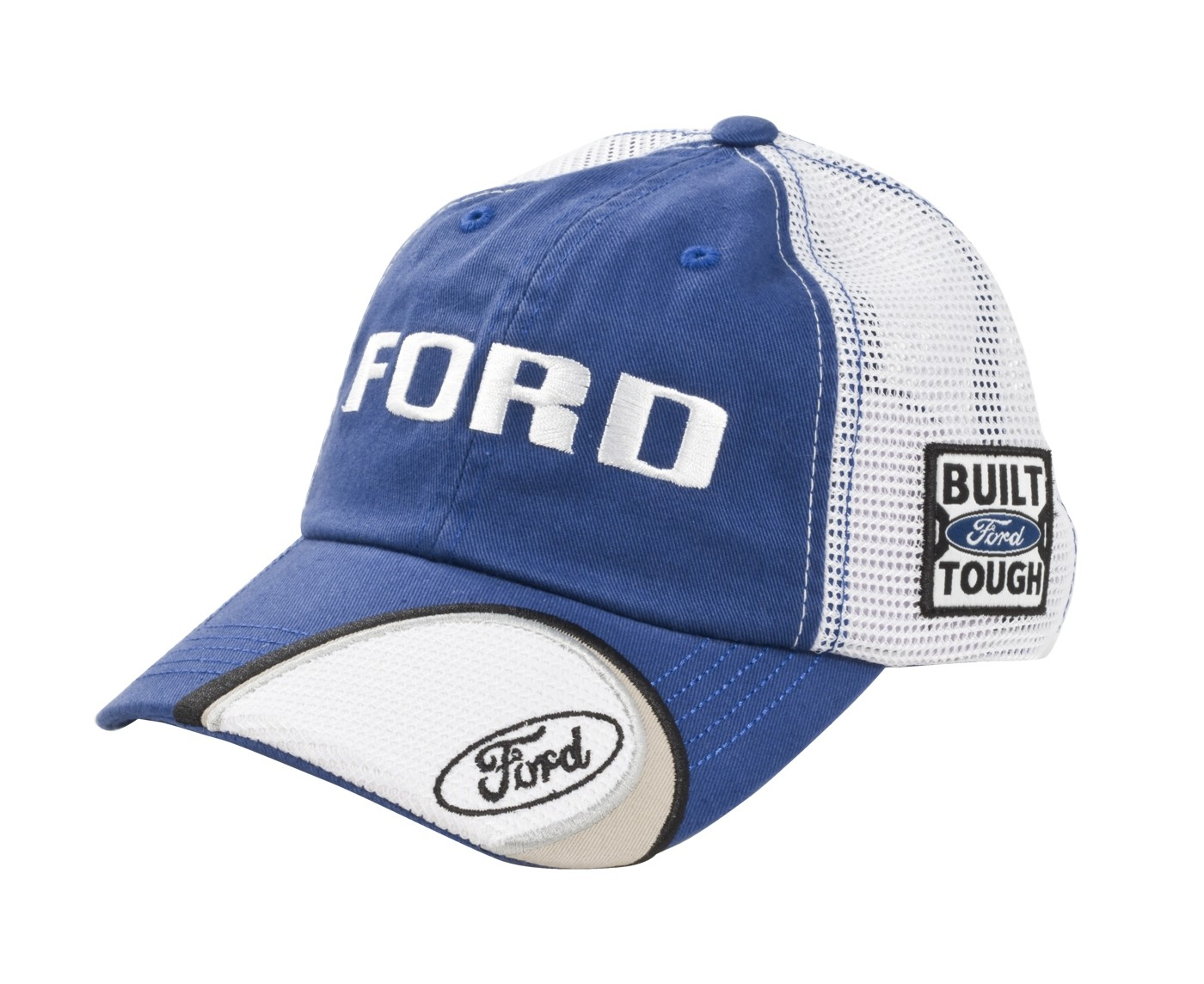Ford Hat Oval with Tag Embroidered Cap