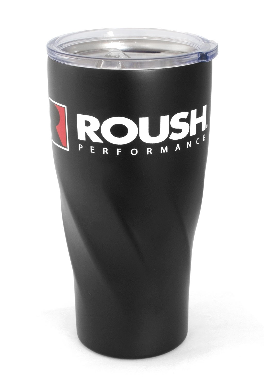 Roush Stainless Steel Insulated 20oz Coffee Travel Mug Tumbler - Black