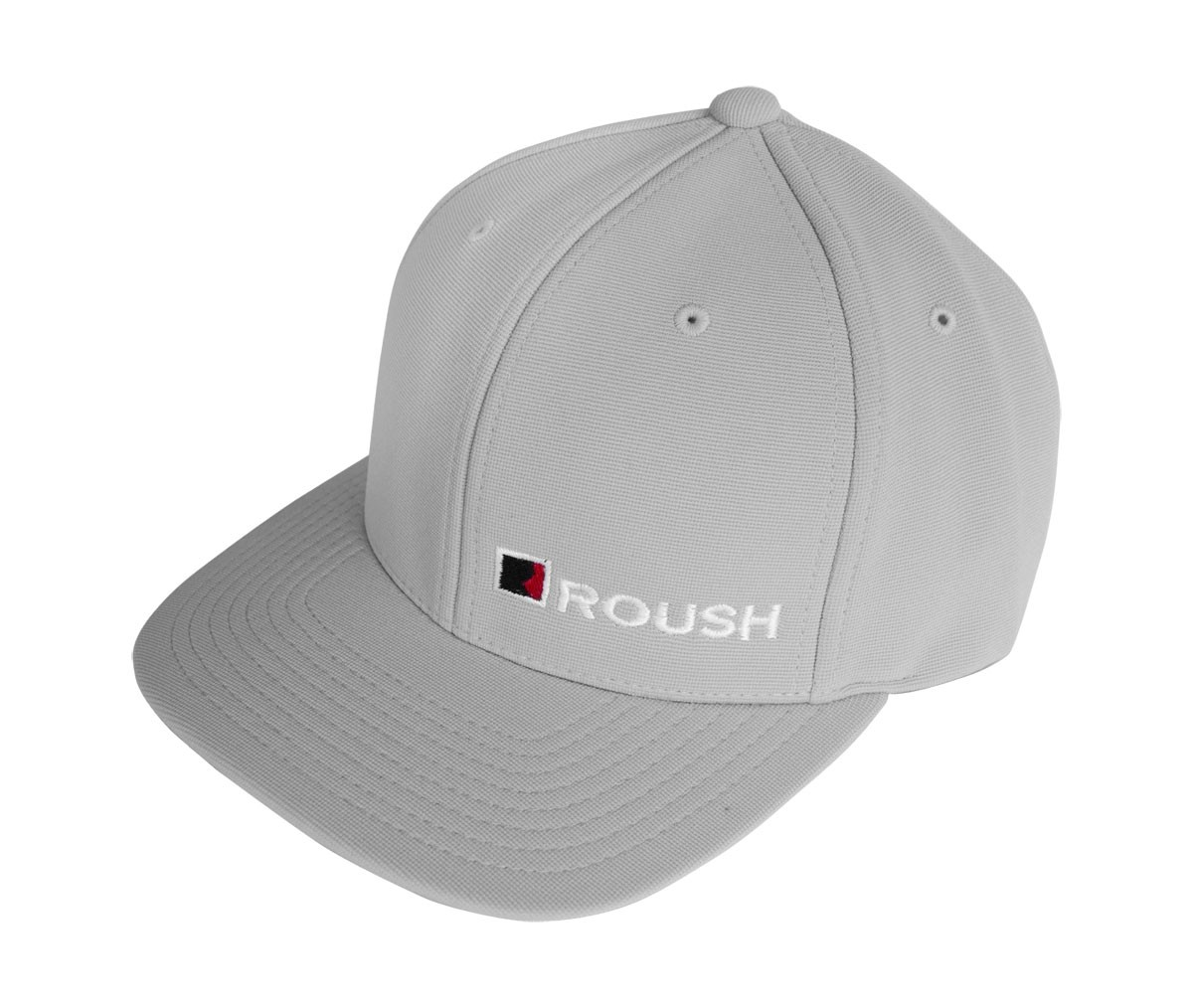 Roush Ford Mustang F150 Embroidered Grey Flat Bill Adjustable Hat Cap