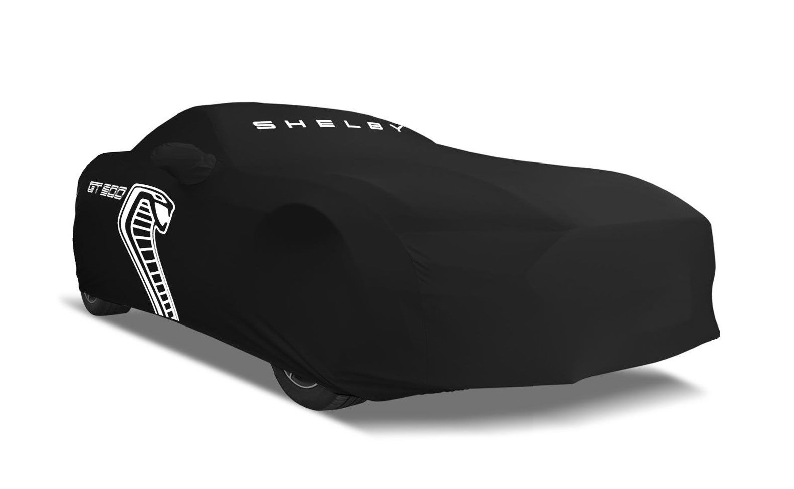 2020 Shelby GT500 Genuine Ford OEM Black Stormproof Outdoor Car Cover w/ Cobra Logo