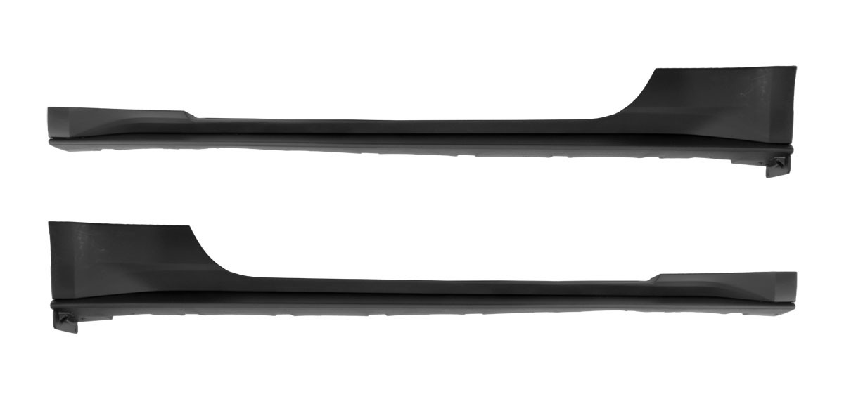 2015-2020 Mustang Genuine Ford Lower Side Rocker Panels LH & RH Pair - Unpainted