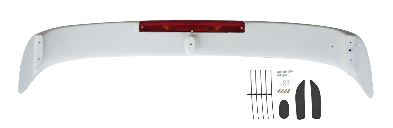 1979-1993 Mustang Coupe & Convertible Rear Wing Spoiler, Ready to Paint!