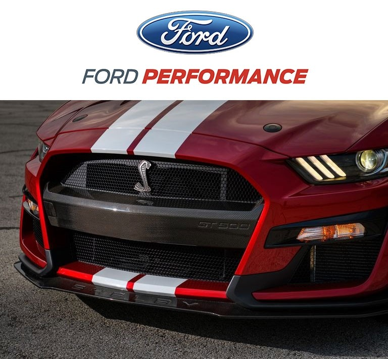 2020-2021 Shelby GT500 Ford Performance M-17750-MCF Carbon Fiber Bumper Insert