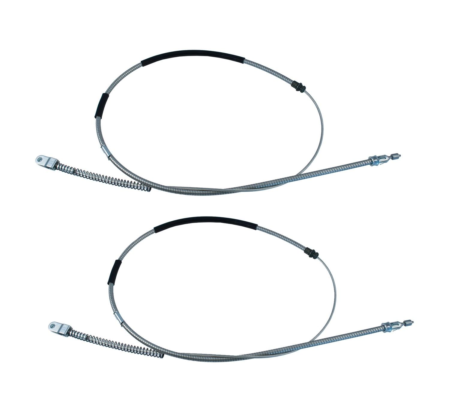 "1984-1986 Ford Mustang SVO 70"" Parking E-Brake Cables - Pair"