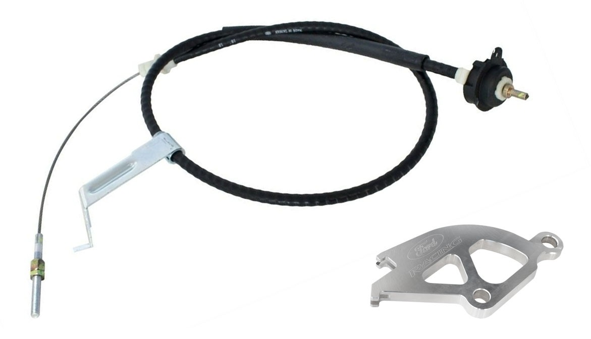 1982-1995 Ford Mustang or Cobra 5.0 V8 M-7553-B302 Adjustable Clutch Cable
