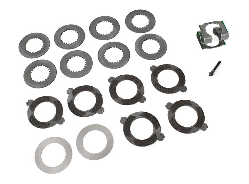 "Ford Performance M-4700-C 8.8"" Traction Lok Rear End Differential Rebuild Kit w/ Carbon Discs"