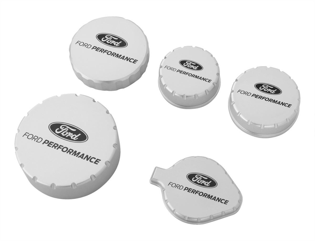 2015-2019 Mustang Ford Performance M-6766-M50A Billet Engine Cap Set
