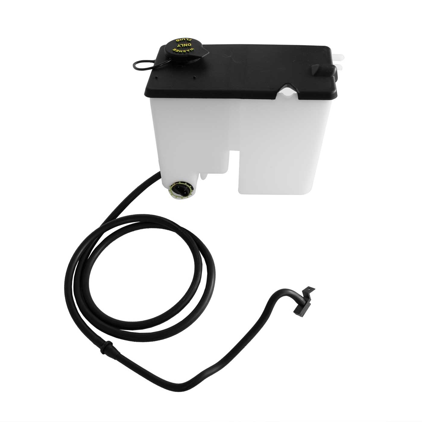 1979-1985 Ford Mustang Windshield Washer Radiator Overflow Complete Kit w/ Hoses & Nozzle