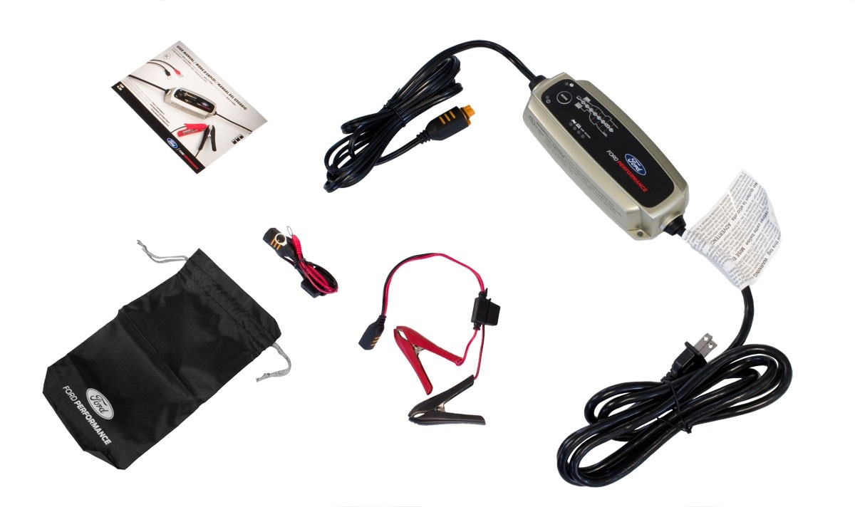 Ford Performance M-10300-FP 5.0 12V Smart Battery Charger & Maintainer