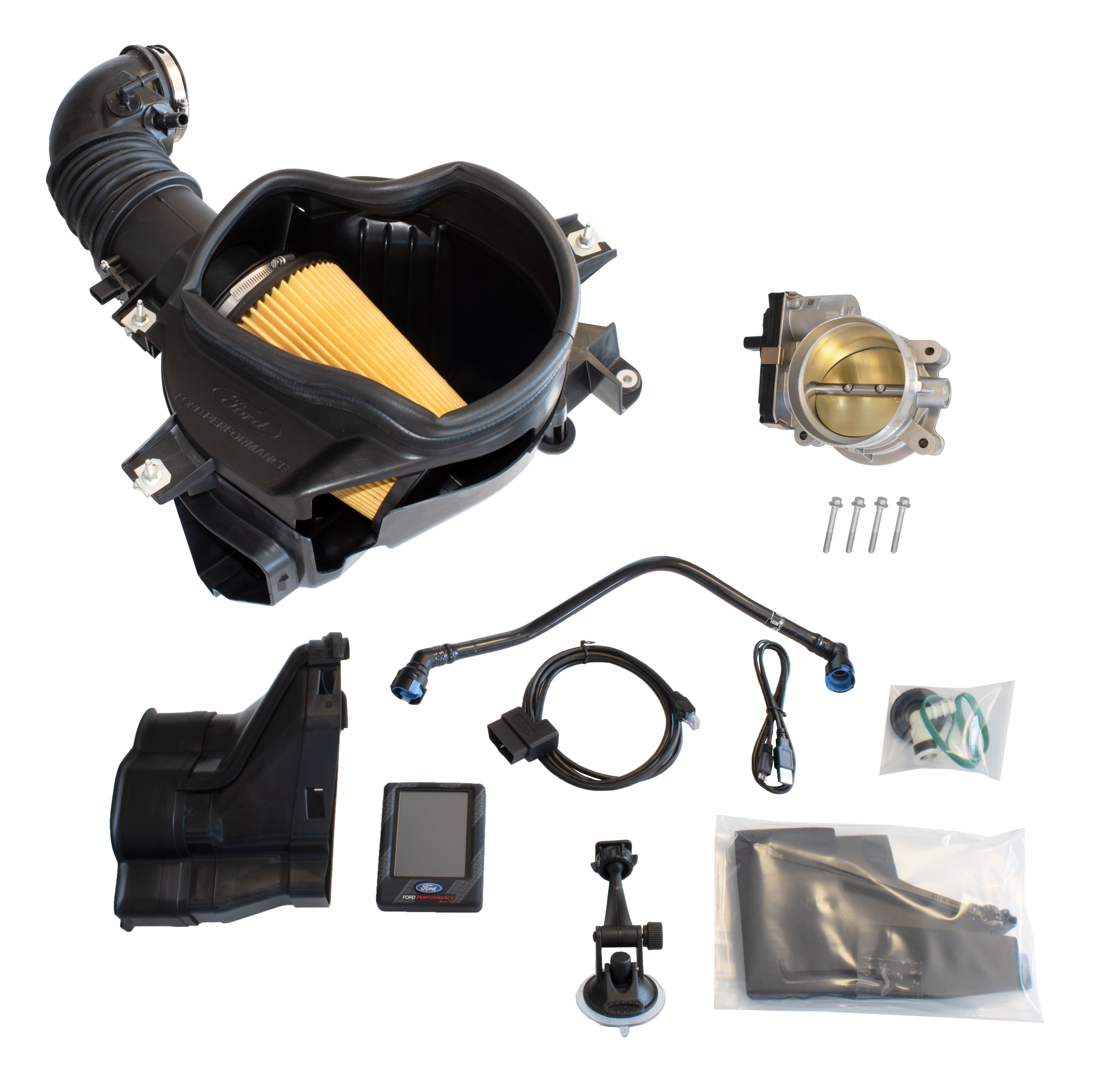 2018-2020 Mustang GT Ford Performance M-9603-M8B Cold Air Intake Throttle Body & Calibration Tool