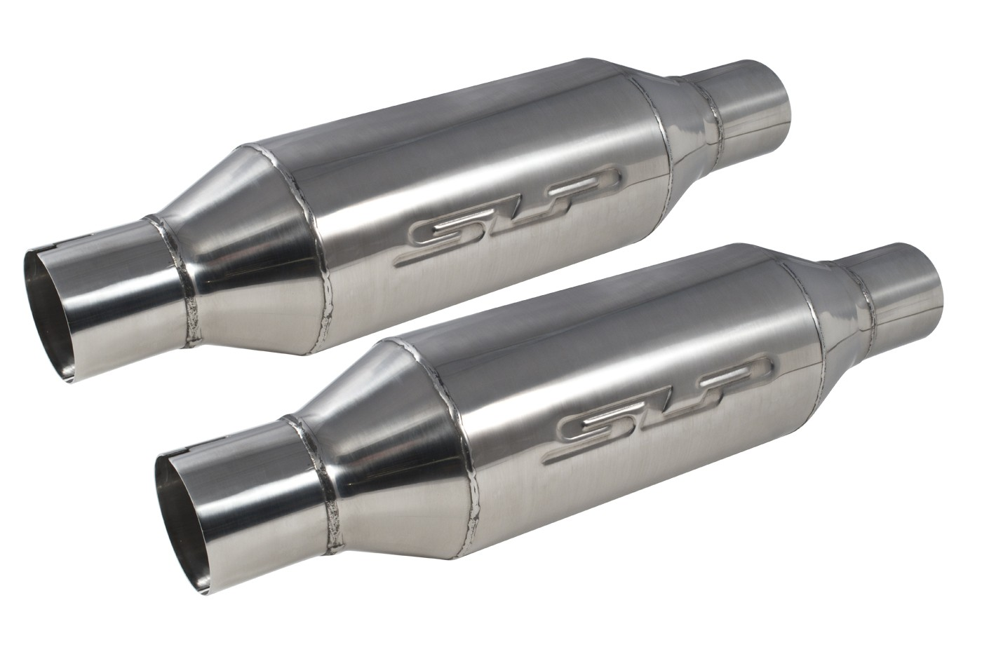 "Ford Mustang or Cobra SLP 31064 Loud Mouth II Bullet Style Mufflers 2.5"" Pair"