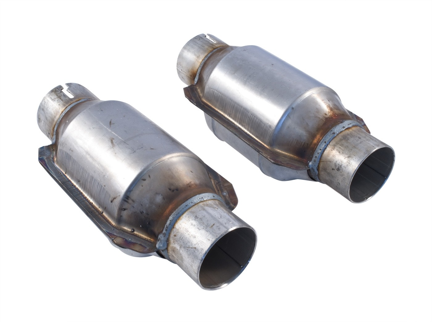 """1996-2010 Ford Mustang SLP M31040 2.5"""" High Flow Catalytic Converters Ceramic Substrate"""