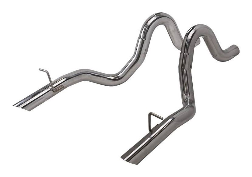 "1987-1993 Ford Mustang LX 5.0 Pypes Stainless 3"" Exhaust Tailpipes"