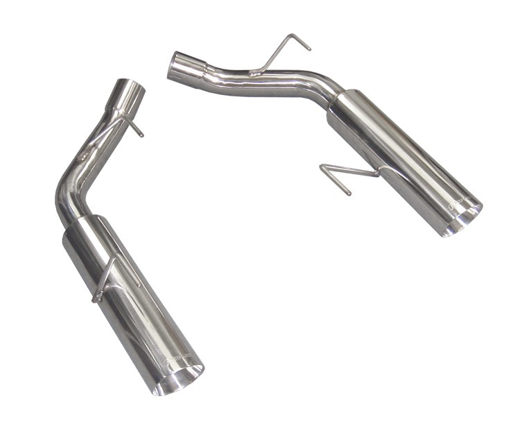 2005-2010 Mustang GT PYPES Axle Back Muffler Delete Pipes Exhaust Pype Bomb