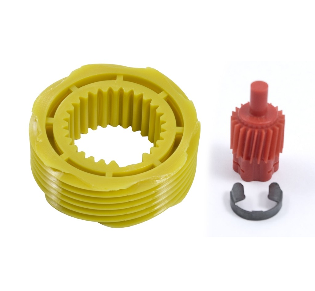 1983-1998 Ford Mustang Yellow 7 Tooth & Red 21 Tooth Speedometer Drive Gears