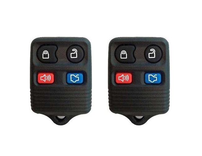 Pair 1999-2009 Ford Mustang Replacement Remotes Key Fob Clickers