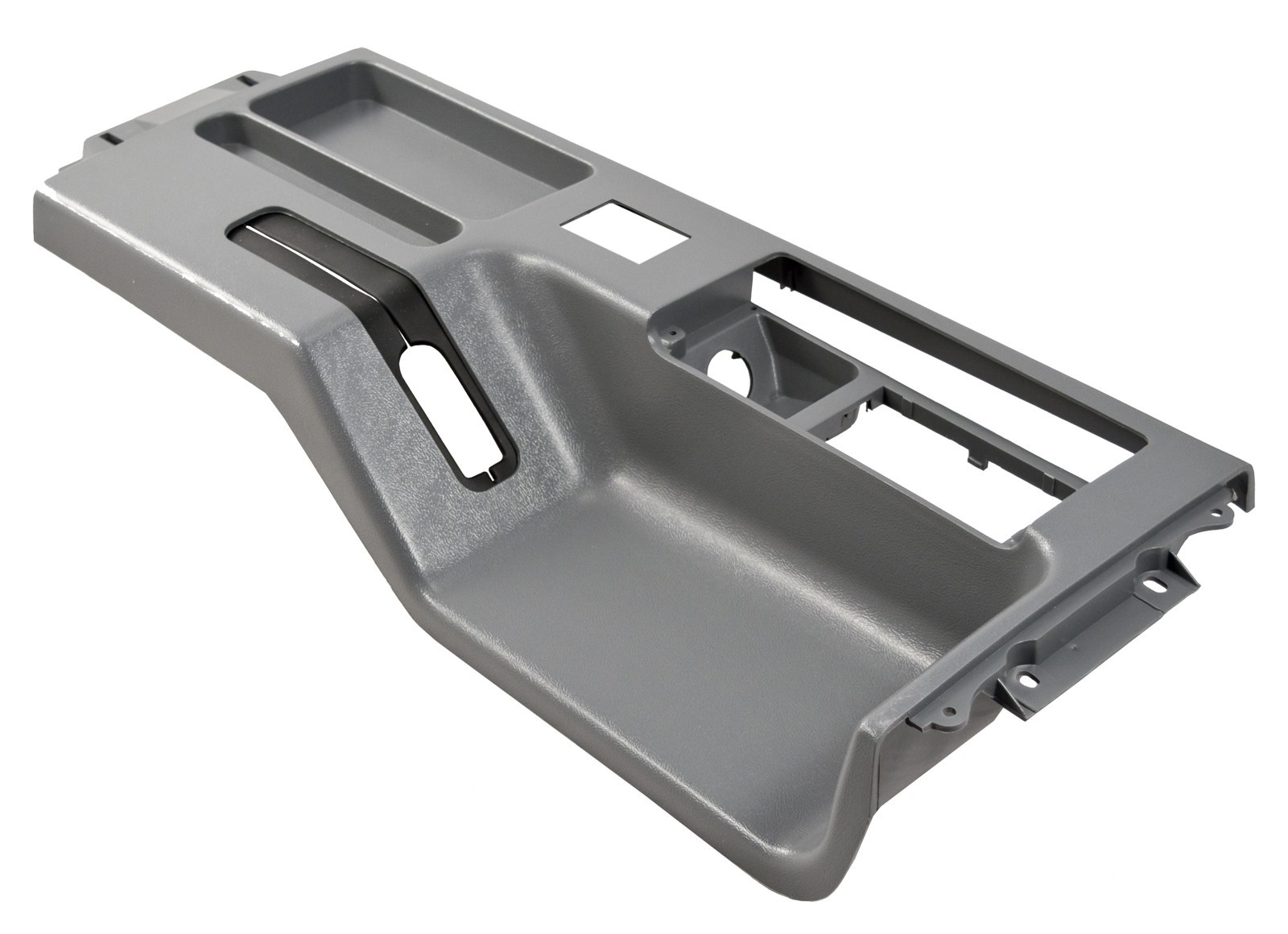 1987-1993 Mustang Interior Center Top Console in Gray (with Power Mirrors)
