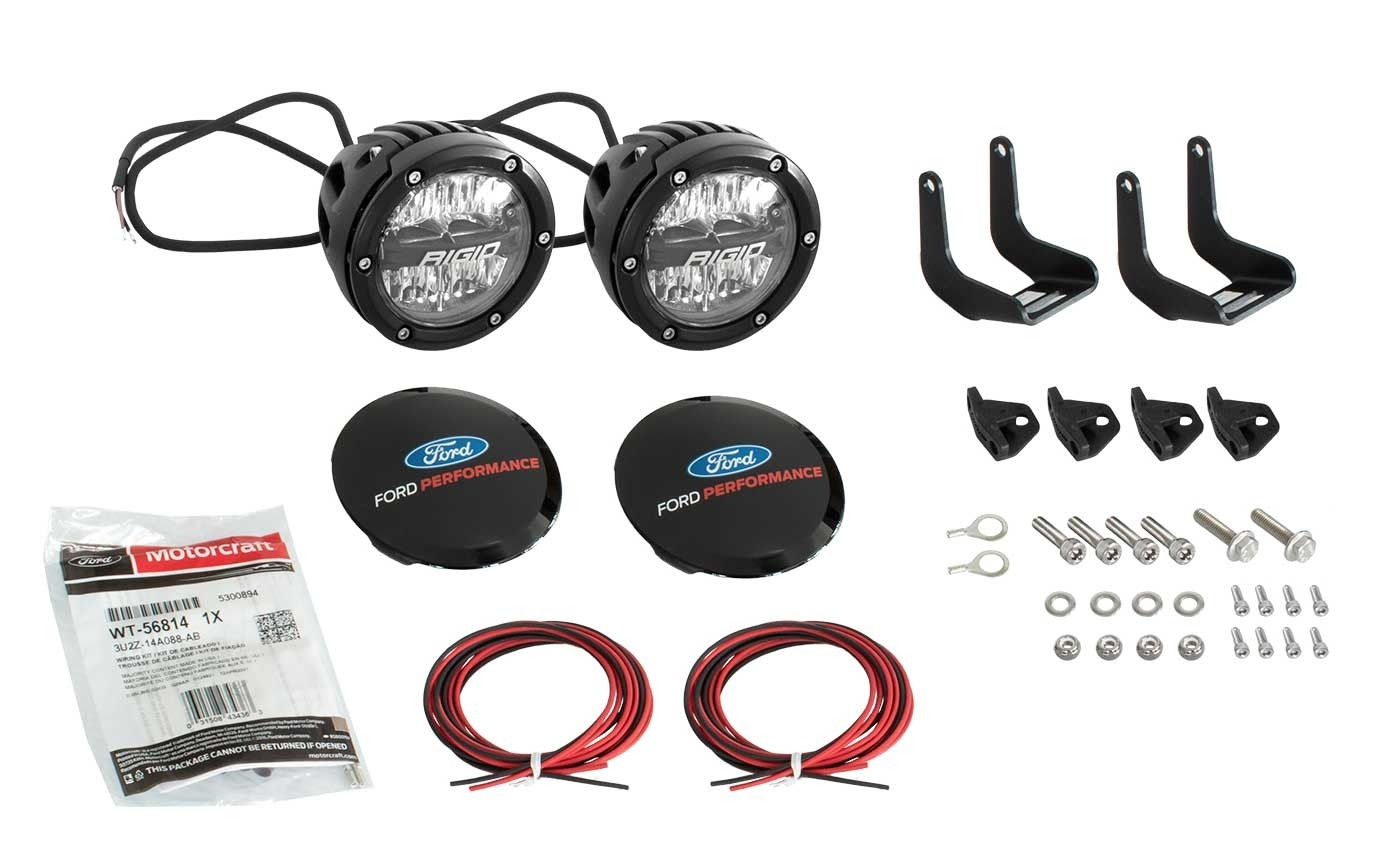 2021 Bronco Ford Performance M-15200K-BML RIGID Mirror Mounted Off Road Lights