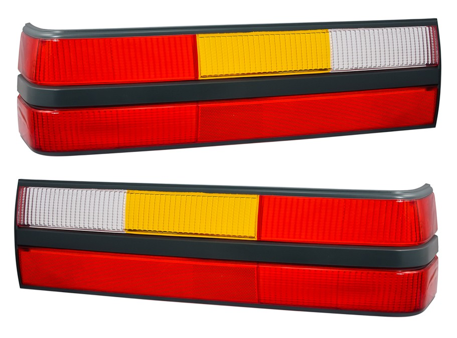 1983-1984 Mustang GT, LX Taillight Lenses - Pair