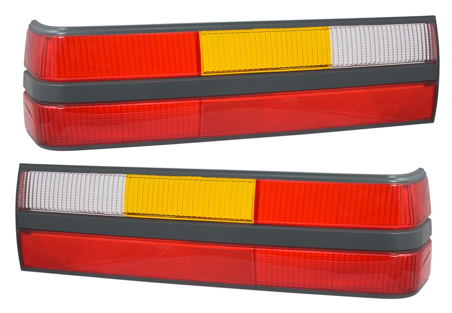 1985-1986 Mustang GT, LX Tail Light Lens - Pair