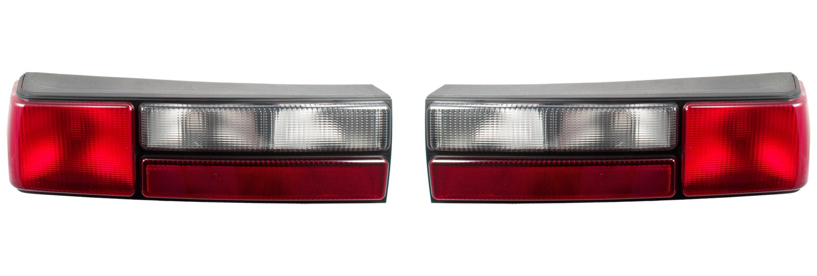 1987-1993 Ford Mustang LX Complete Taillights w/ Housings, Pair