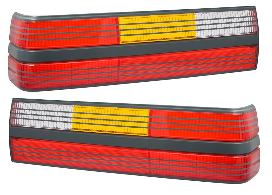 1985-1986 Ford Mustang SVO & 1993 Cobra Taillights Tail Lights Lamps LH RH Pair