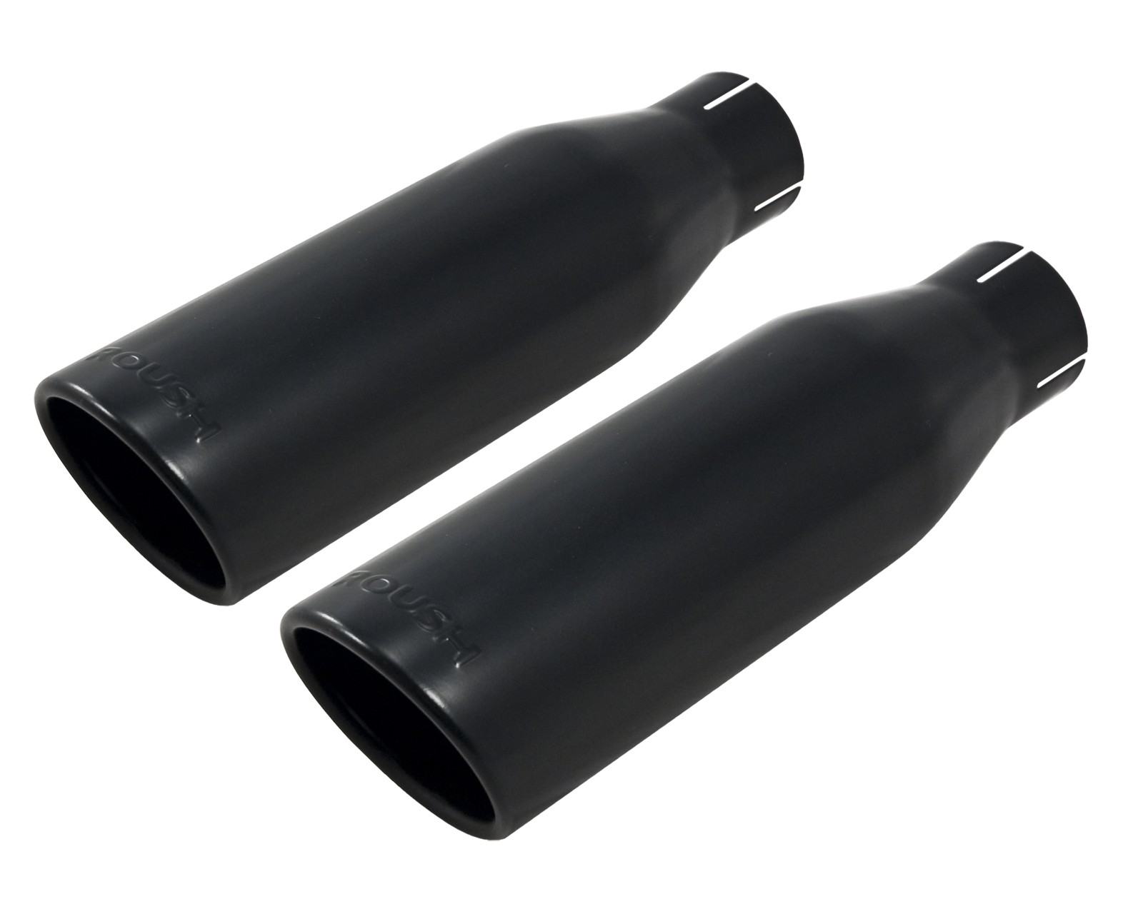 "2011-2014 Ford F150 Black Powdercoated Roush 4.5"" Exhaust ..."