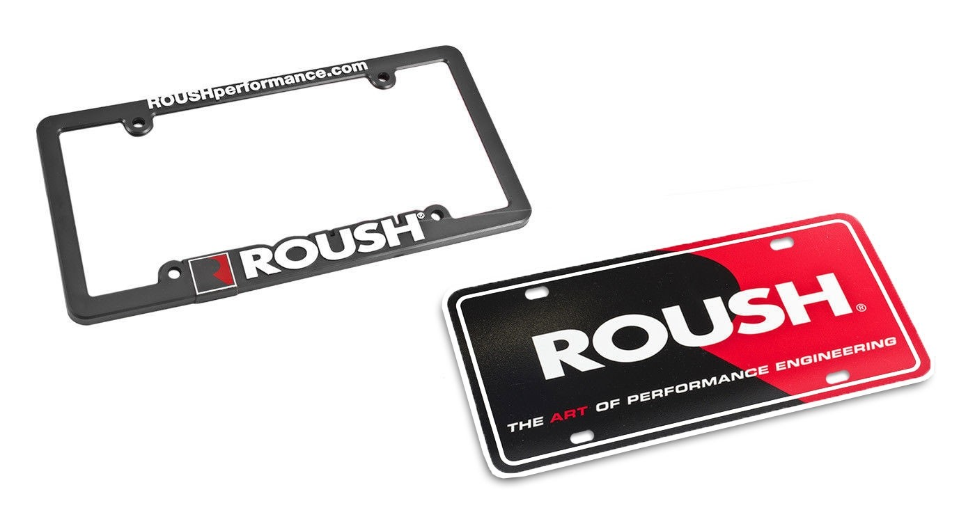 Mustang F-150 RS1 RS2 RS3 Roush Performance Front Rear License Plate ...