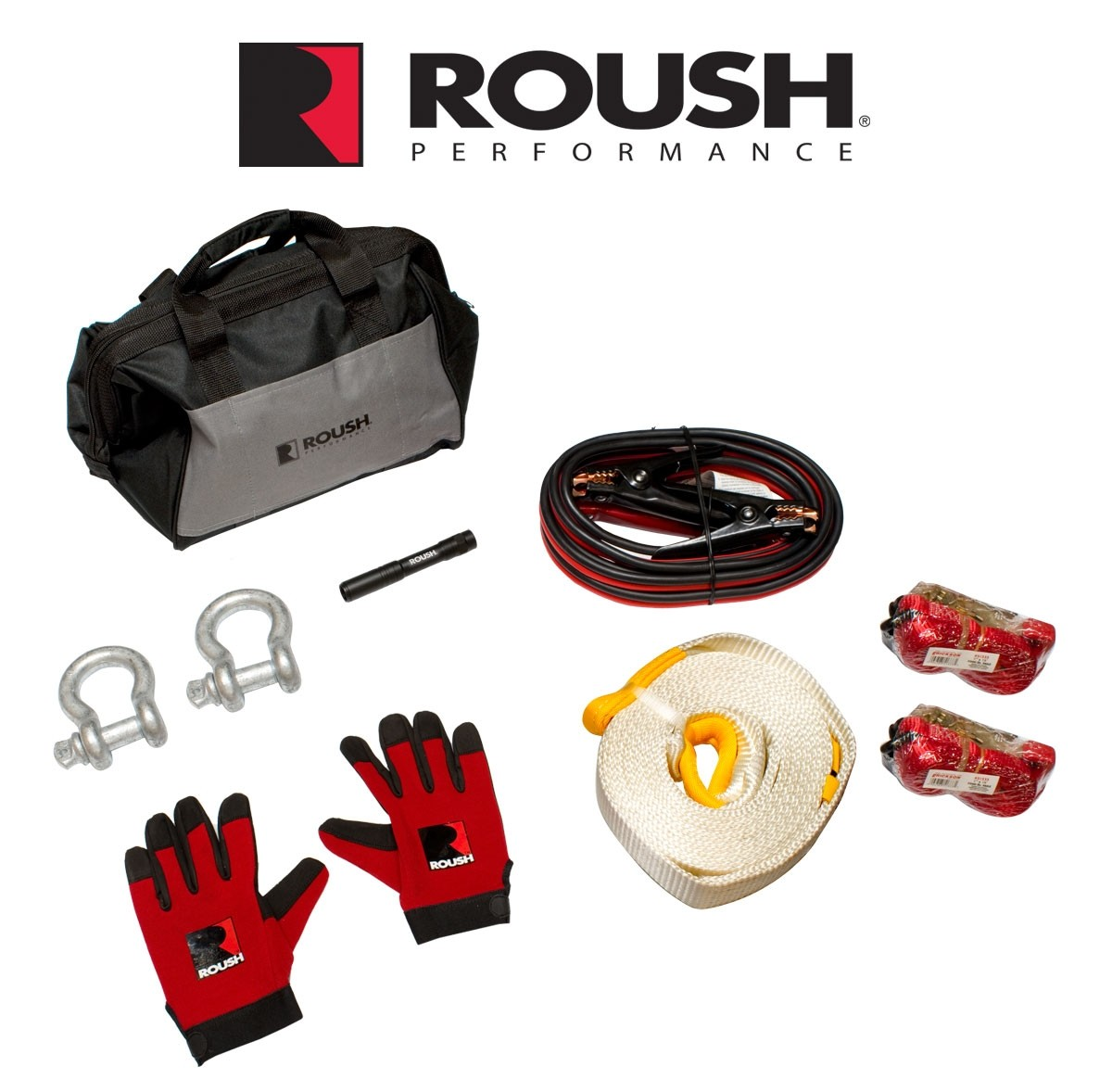 2010-2020 Ford F150 Raptor Truck Roush Tow Strap Utility Kit w/ Bag