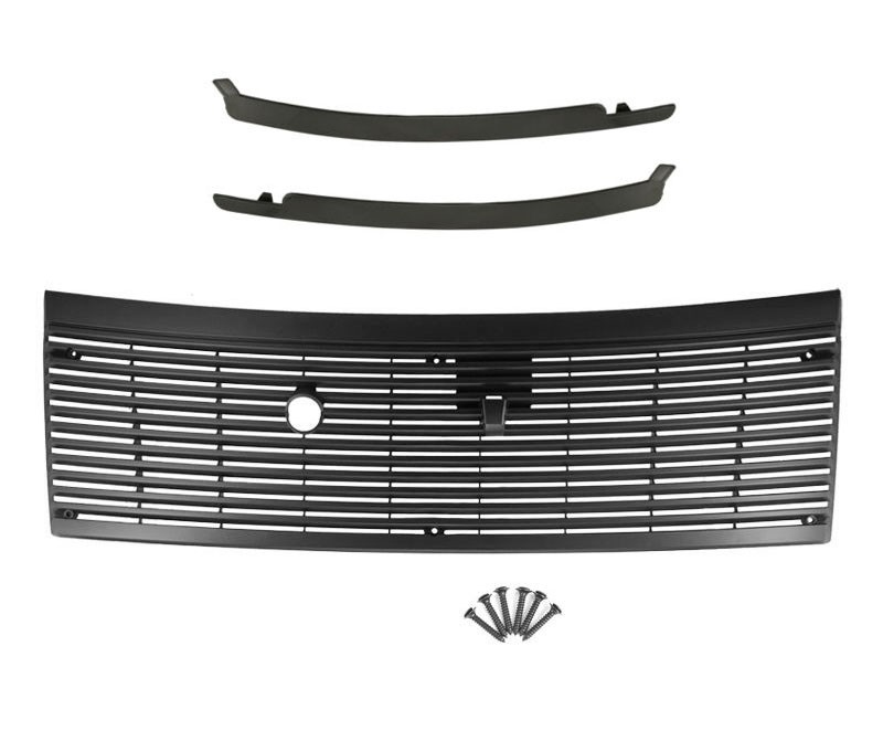 1983-1993 Mustang Cowl Vent Grille w/ Lower Windshield Trim Moldings