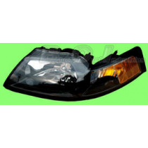 2001-2004 Mustang or Cobra Complete Smoked Headlight - LH