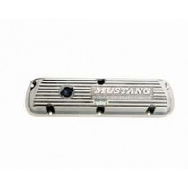 289 302 351W Mustang Polished Aluminum Valve Covers