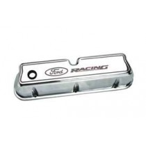 289 302 351W Ford Racing Chrome Aluminum Valve Covers